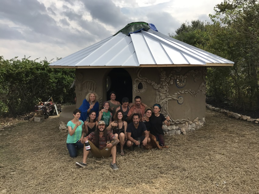 amazing recent advanced cob graduates built this studio in 28 days!